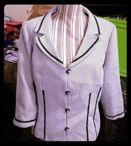 Sandra Darren Jackets & Coats - Sandra Darren Blazer